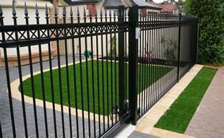 Garden Grass Types - fence types adelaide residents can select from to erect