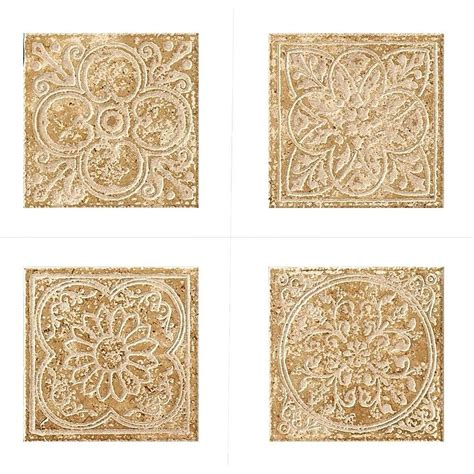 Home Depot Backsplash For Kitchen Marazzi Montagna Cortina 6 In X 6 In Porcelain Embossed