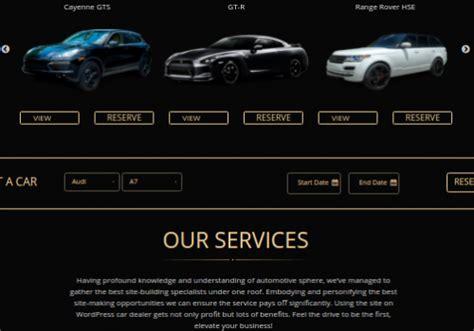 best car rental website luxurious car rental website design mobilunity