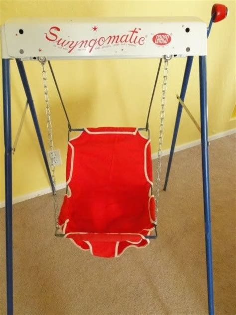 baby wind up swing wind up baby swing the good ole days pinterest