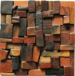 natural wood mosaic tile nwmt033 kitchen tile backsplash