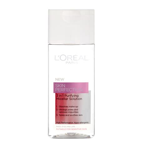ps loreal micellar solution is now on offer in boots for 333 l or 233 al paris skin perfection 3in1 purifying micellar