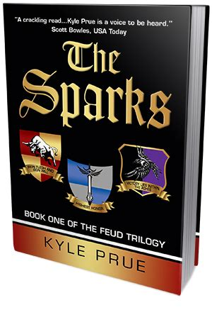 Threats For Sparks Critic by Bookish Lifestyle Tour The Sparks By Kyle Prue