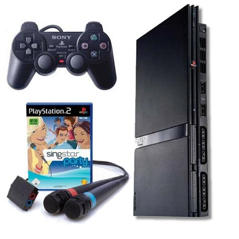 sony playstation 2 new karaoke paket sony playstation