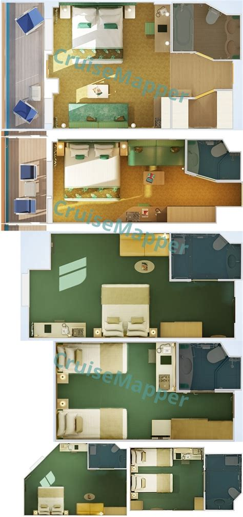 carnival dream suite floor plan carnival dream cabins and suites cruisemapper