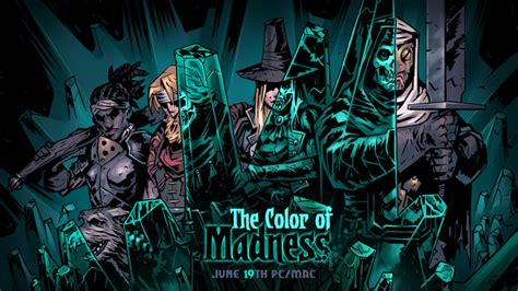 what is the darkest color darkest dungeon the color of madness and its comet