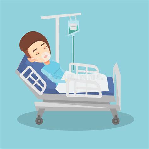 nel letto paziente si trova nel letto di ospedale con la