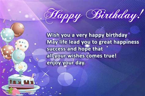 Wishes You A Happy Birthday Best Happy Birthday Wishes Images