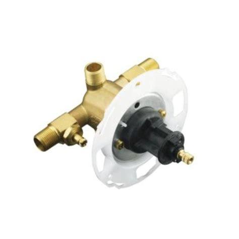 install kohler k304 valve kohler rite temp 1 2 in pressure balancing valve with