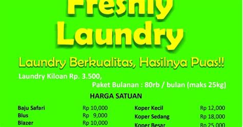 Cuci Kasur Palembang freshly laundry cirebon daftar harga