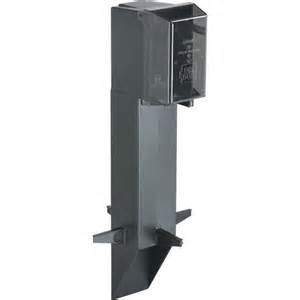 Gardener S Supply Company Outlet Arlington Gpd19b Gard N Post Low Profile Outdoor Post