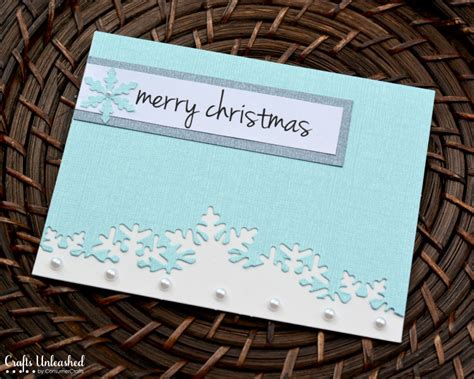 Make My Own Card Online - 9 homemade christmas cards ideas hobbycraft blog