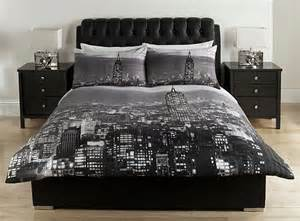 Tonneau Covers In New York New York Photographic Skyline Duvet Cover From Fascobedding On