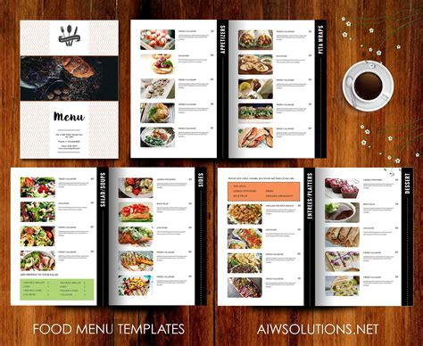 9 Essential Restaurant Menu Design Tips Restaurant Menu Design Templates
