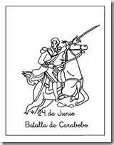 dibujo de la batalla de carabobo 1814 la batalla de carabobo imagenes para imprimir y colorear