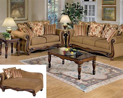 floral fabric sofa set acme sofa set in brown floral olysseus fabric ac50310set