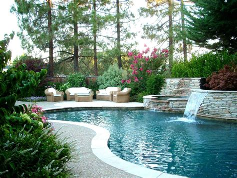 backyard flooring landscaping gorgeous backyard landscape ideas with brick patio