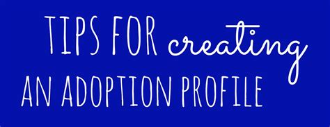12 Tips On How To Create A Profile by Tips For Creating An Adoption Profile Larsenlegalutah