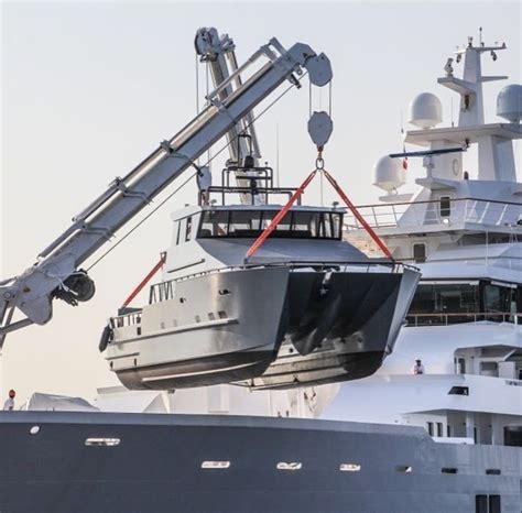 catamaran yacht tender tender to ulysses is a 21m catamaran for more information