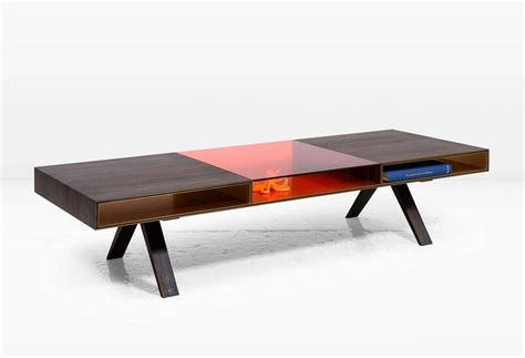 Gilroy Coffee Table With Rosewood And Colored Italian Colored Coffee Table