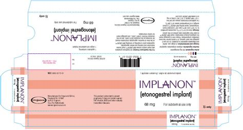 implanon fda prescribing information side effects and uses