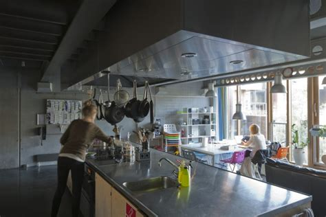 Shared Kitchen by Kitchens And Common Rooms Tietgenkollegiet
