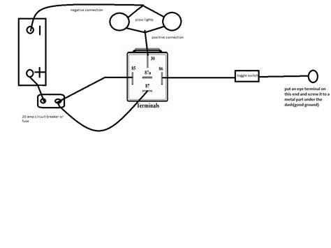 western snow plow solenoid wiring diagram relay get free