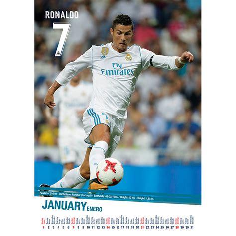 Calendario Real Madrid 2018 Calend 225 2018 Real Madrid Em Europosters Pt