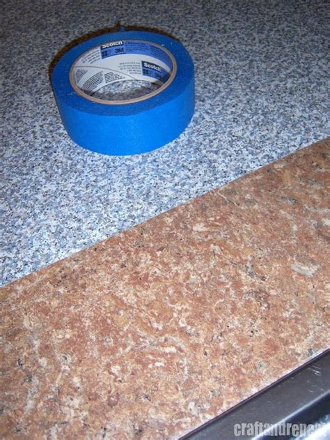 Six Dollar Kitchen Countertop Transformation Countertop Contact Paper For Kitchen Countertops