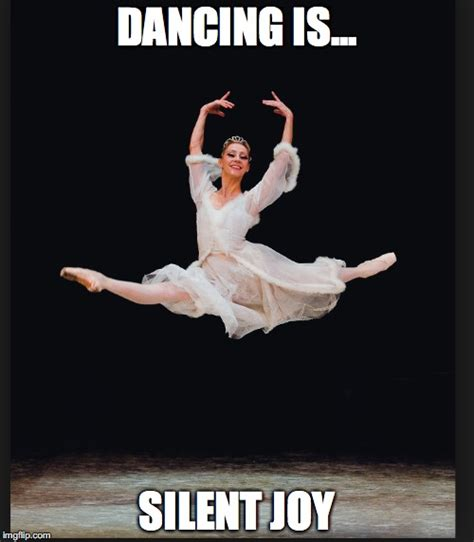 Joy Meme - dancing is silent joy imgflip