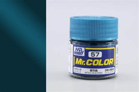 Mr Color 57 Metalic Blue Green Blue Bamboo Metallicija Ijn Aircraft mr color c57 metallic blue green