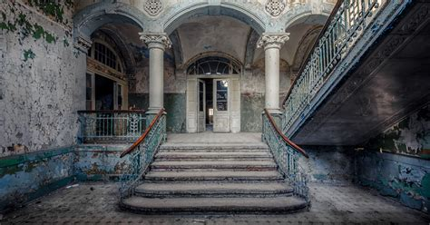 abandoned buildings photographer finds abandoned buildings in europe and