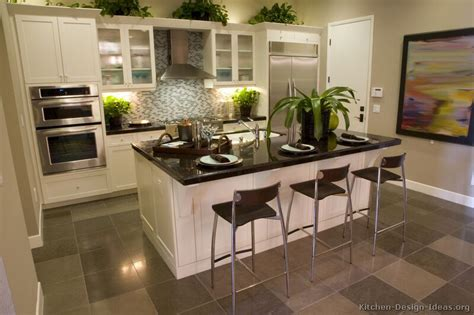 Kitchen Designs With White Cabinets Pictures Of Kitchens Traditional White Kitchen Cabinets Page 2