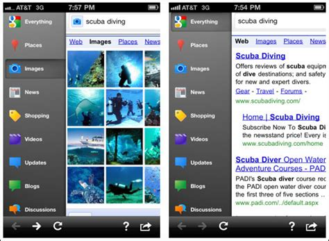 Search Apps Mobile Iphone App Gets Overhaul Becomes Search App