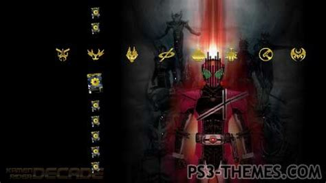 download theme windows 7 kamen rider wizard ps3 themes 187 kamen rider decade standard theme