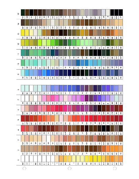 thread color chart gutermann thread color chart pdf sewing