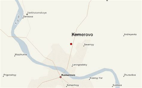 russia kemerovo map kemerovo russia map location
