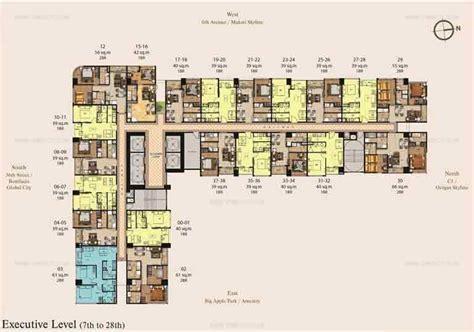 park west floor plan madison park west preselling condominium for sale in