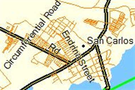 san jose tacloban map visayan streetmap overview