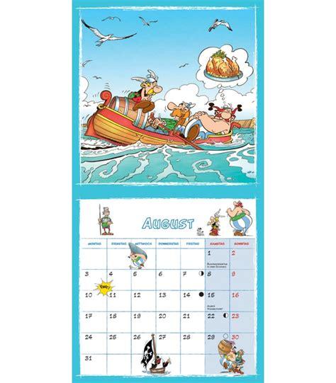 Calendrier 2018 Asterix Wall Calendar Asterix And Obelix 2015