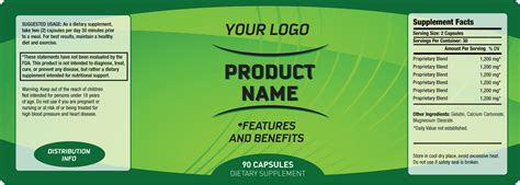 6 Free Label Templates Excel Pdf Formats Product Label Templates