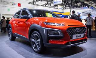 Electric Cars In India Hyundai Hyundai Kona Electric Suv In India As Early As 2018