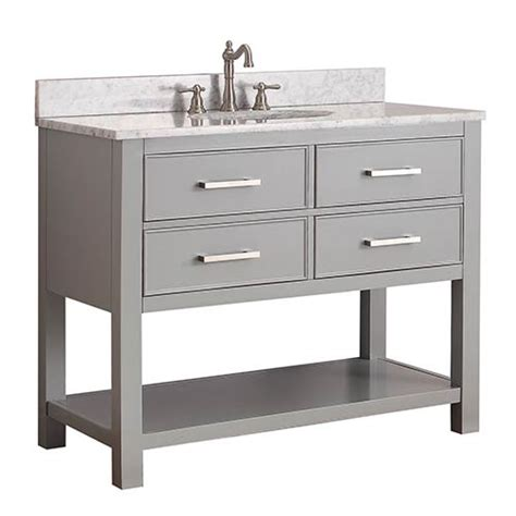 chilled gray 42 inch vanity only avanity vanities