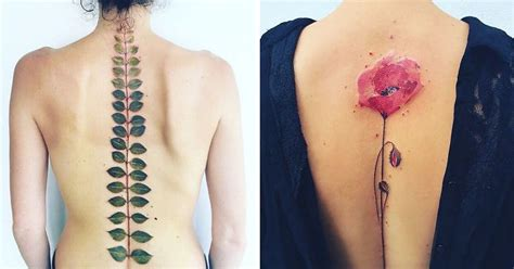 tattoo inspired home decor ethereal nature tattoos inspired by changing seasons