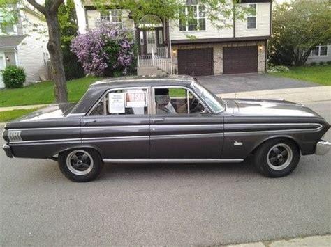Falcon Door by Buy Used 1964 Ford Falcon Futura Charcoal Gray 4 Door