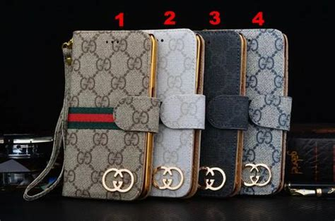 gucci iphone leather wallet cases   retail phone swag