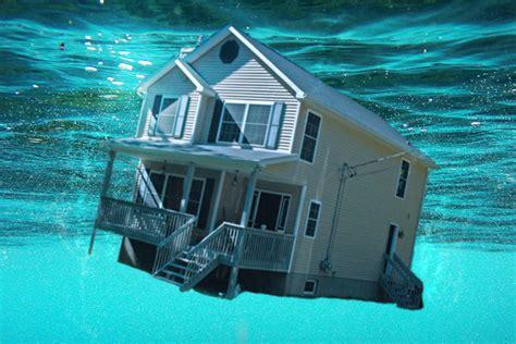houses under water daytona beach housing emerging from underwater