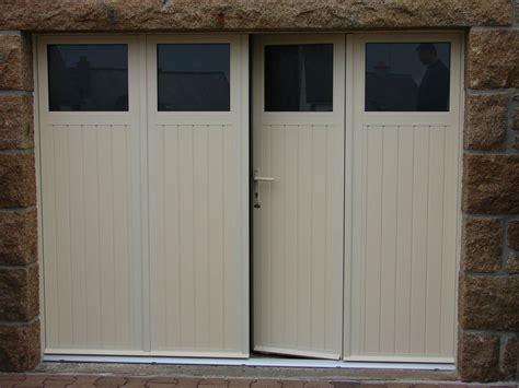 porte de garage 3 vantaux portes de garage sectionnelles laterales et battantes