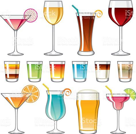 drink vector alcohol clipart alcoholic beverage pencil and in color