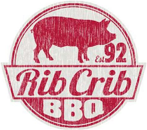 Rib Crib Logo by Spider Downtown Tulsa Oklahoma